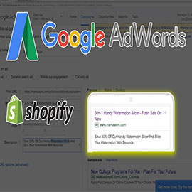 Google AdWords for Shopify