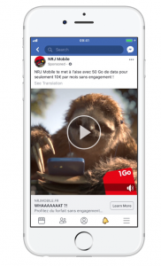 NRJ Mobile, A Facebook Ad Case Study