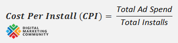 Cost Per Install (CPI) Calculation Formula - How to Calculate Cost Per Install (CPI)