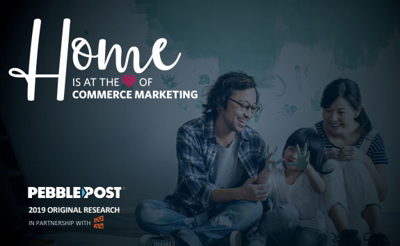 Home Is at the Heart of Commerce Marketing, 2019 - research from PebblePost