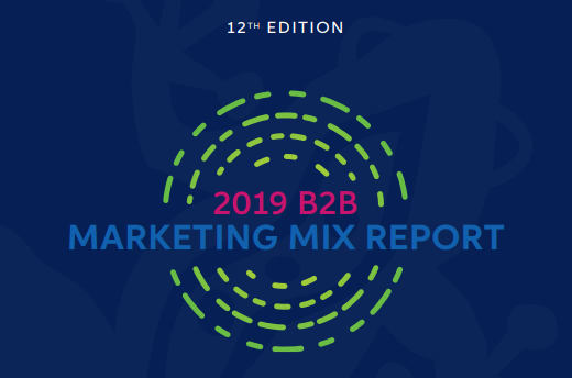 The 2019 B2B Digital Marketing Mix Report by Sagefrog Marketing Group - BeB Digital Marketing Trends