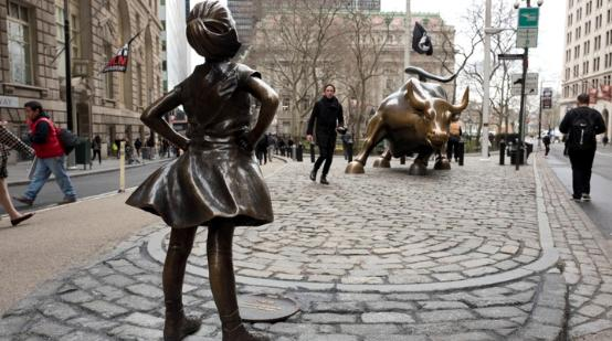 Best Digital Marketing Campaigns in the USA: Fearless Girl Campaign