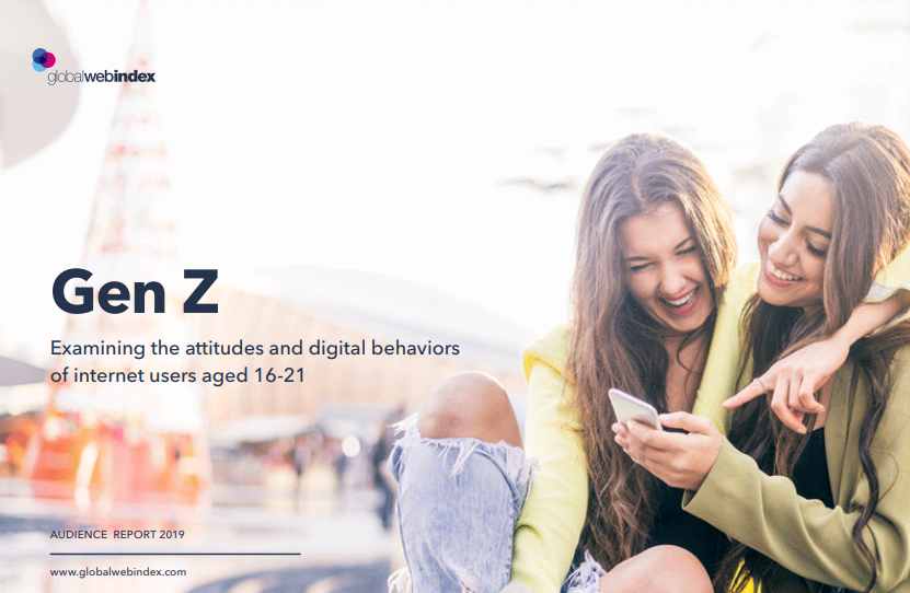 Gen Z Examining The Attitudes & Digital Behaviors of Internet Users Aged 16-21, 2019 Report
