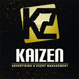 Kaizen is an advertising and event management agency. Their vision is driving their clients to top as they are different with they have of innovative ideas