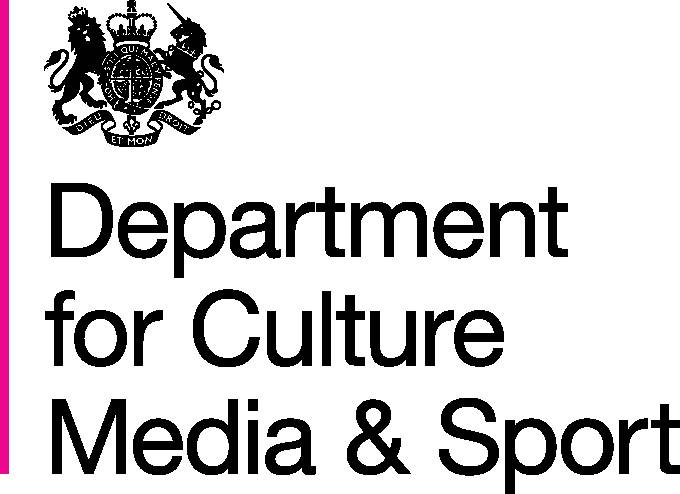 Department for Culture, Media & Sport Logo