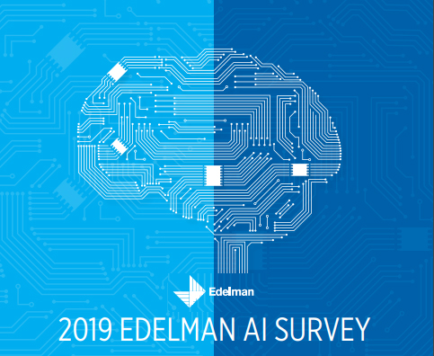 Edelman AI survey Result Report 2019