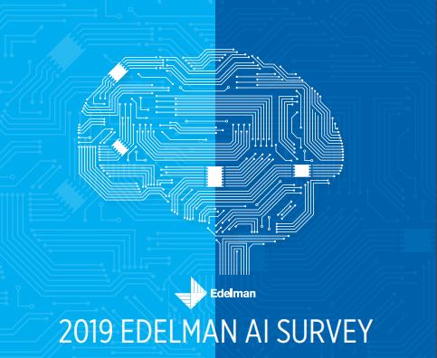 Edelman AI survey Result Report 2019