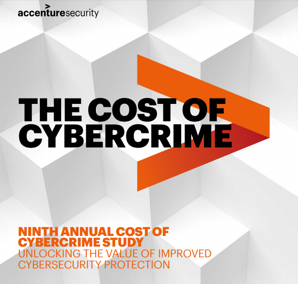 The Cost of CyberCrime Report 2019