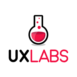 "UX Labs provides custom ""User Experience"" solutions for businesses following a ""User-Centered Design"" methodology in Scientific Usability Testing."