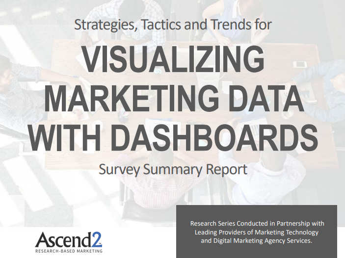 Visualizing Marketing Data With Dashboards Survey Summary Report