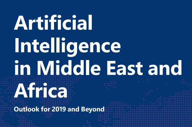Artificial Intelligence in The Middle East & Africa, 2019 Cover