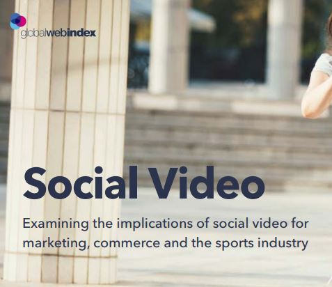 Social Video For Marketing 2019 report cover