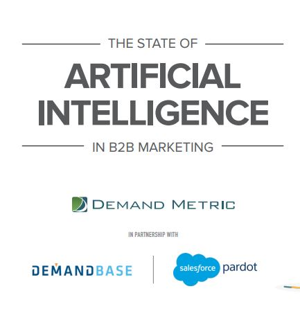 State of AI in B2B Marketing Report Cover