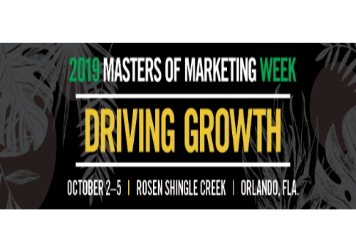 2019 ANA Masters of Marketing Week | Orlando, USA