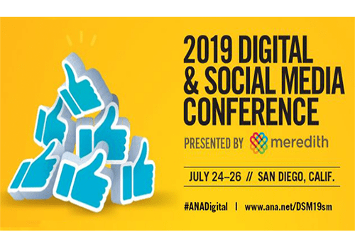 Finally, the 10th annual ANA Digital & Social Media Conference in 2019 is about to happen—it will feature top CMOs & key leaders who will cover important topics in digital marketing & advertising