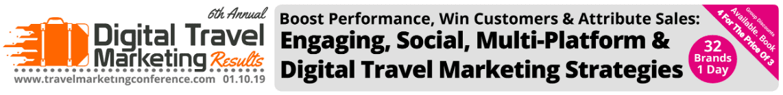 The Best Digital Marketing Event in the UK in 2019: Digital Travel Marketing Results Conference