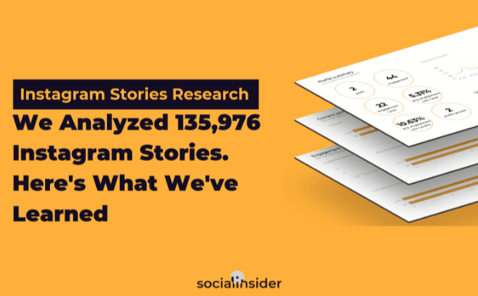 Instagram Stories Research, 2019 Cover