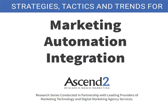 Marketing Automation Integration Ascend-2 Report 2019 Cover