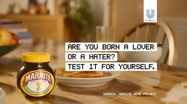 Best Digital Marketing Campaigns in the UK in 2019 - Marmite The Gene Project