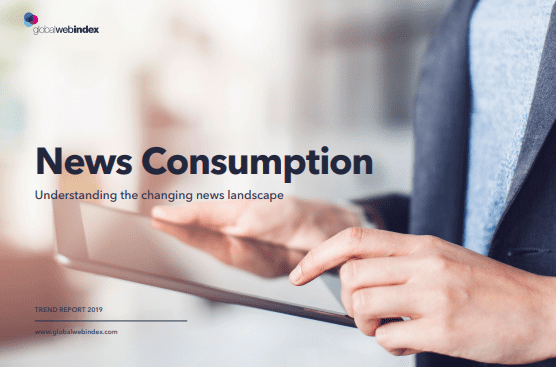 News Consumption report cover 2019, In recent years, there has been a considerable increase in the number of people accessing the news via online platforms, especially among younger audiences. This shift has many implications for news consumers.