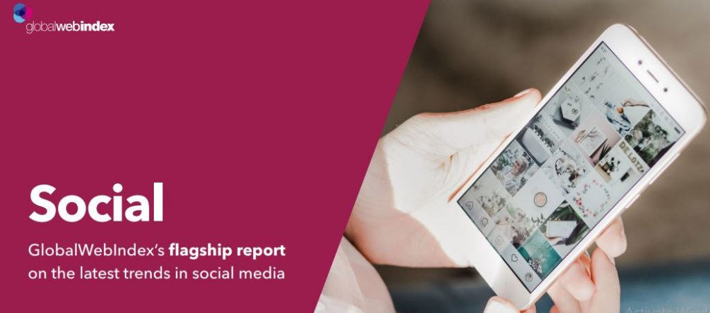 Social Media Flagship report cover, The growth of social media has brought a communication revolution which helps in creating social relationships platforms over the Internet.