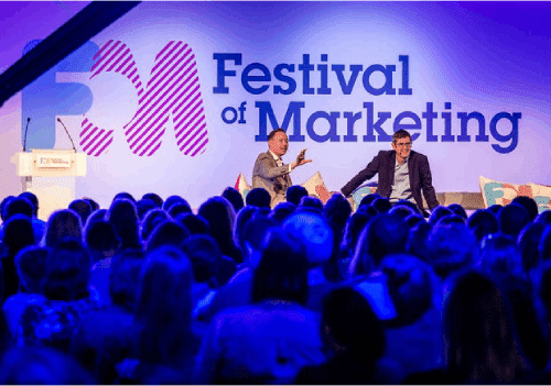 The UK Festival of Marketing 2019 is an unusual experience where ambitious marketers from UK and worldwide can explore, learn, celebrate and shape the future together.