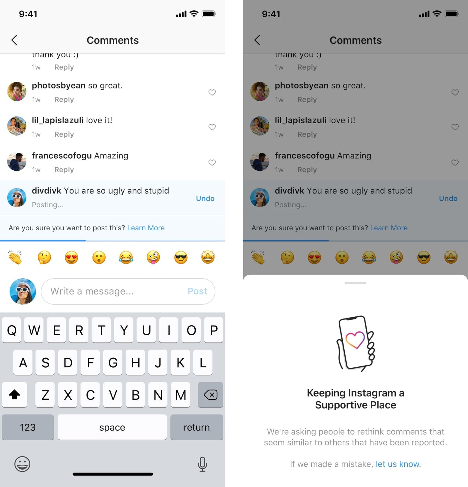 Instagram Looks to Stop Online Bullying with New Features