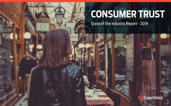 Consumer Trust 2019 Report Cover