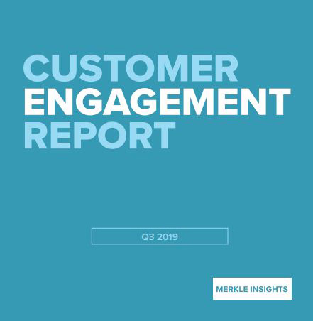 Customer Engagement 2019 Report Cover Merkle