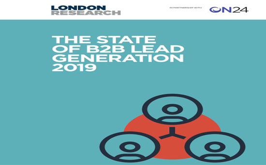 State of B2B Lead Generation Report Cover 2019