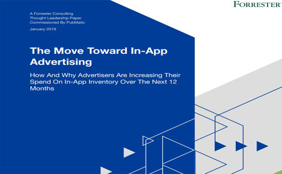 The Move Toward In-App Advertising 2019 Cover