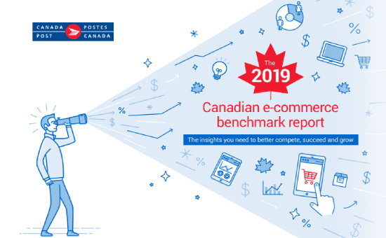 The 2019 Canadian e-commerce benchmark report: This unique report gives you a snapshot of the Canadian e-commerce landscape – with the latest insights and a benchmark measurement of relevant changes in the last 2 years