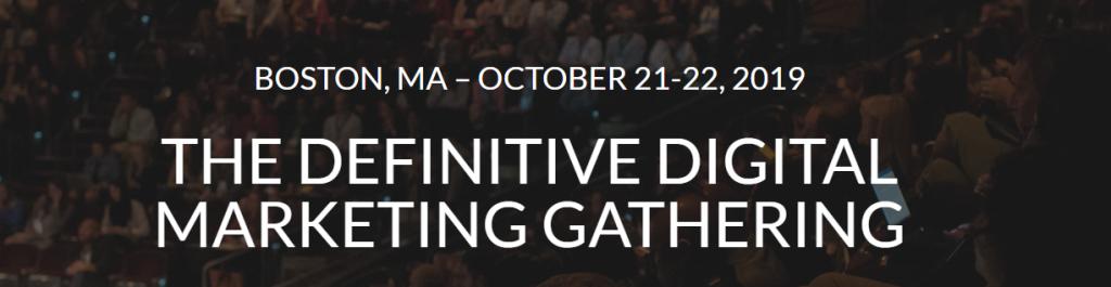 Digital Summit Boston 2019   Boston, USA
