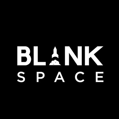 Blank Space logo, white space digital, digital agency, feast digital