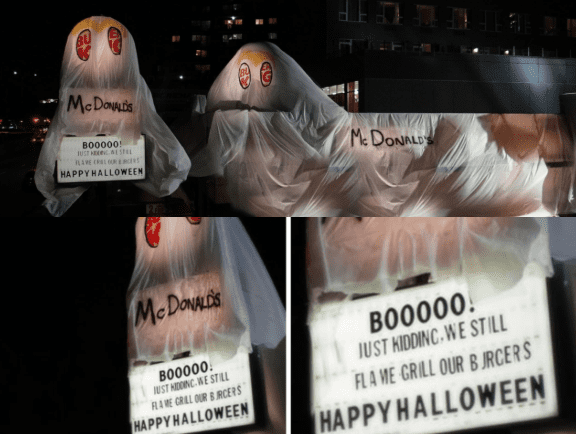 An Example of the Halloween Marketing Campaign Burger King, Best of Halloween Marketing Campaign Ideas 2019, Halloween brands, Halloween promotions, Halloween advertising ideas, marketing Halloween ideas
