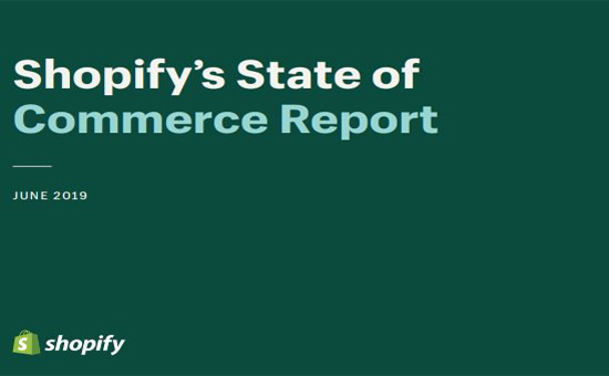 Shopify's State of Commerce Report Cover-2019