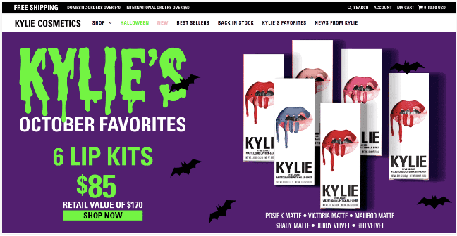 Halloween Special Edition Cosmetics, Halloween Marketing Campaign Ideas 2019, Halloween marketing ideas, Halloween campaigns, Halloween brands, Halloween advertising ideas, marketing Halloween ideas