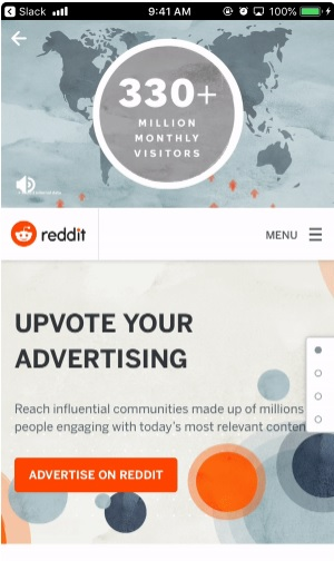 Reddit announced new updates, adding 2 new aspect ratio for ad sizes, new mobile landing page & offering exceptional URL for cost per view campaign.