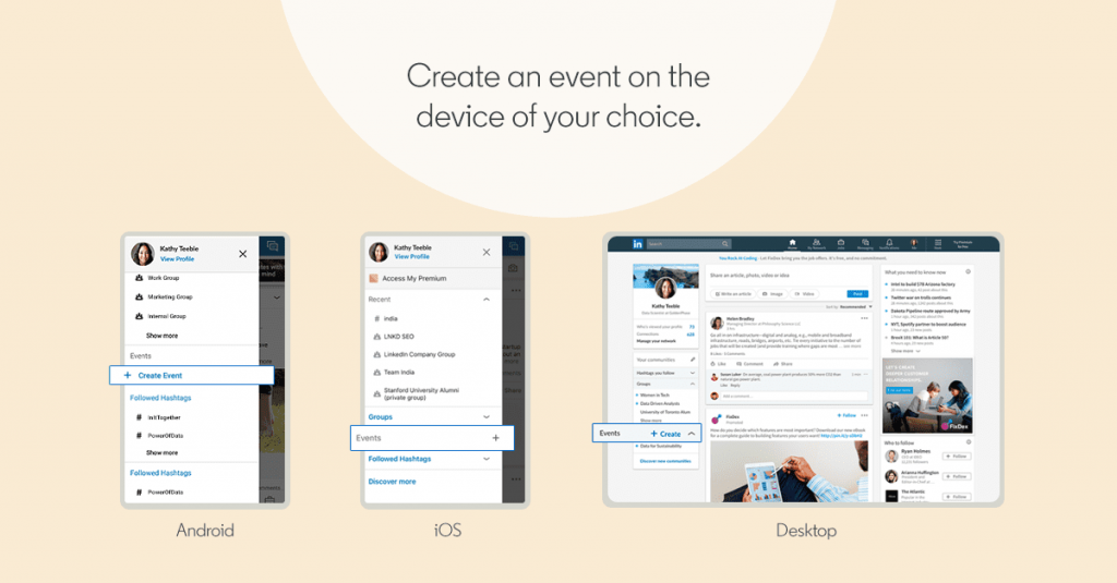 LinkedIn Launches LinkedIn Events to Organize Professional Gatherings 1 | Digital Marketing Community