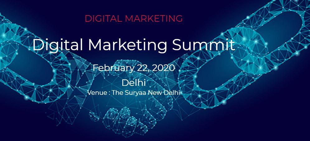 Digital Marketing Summit 2020 | New Delhi, India 1 | Digital Marketing Community