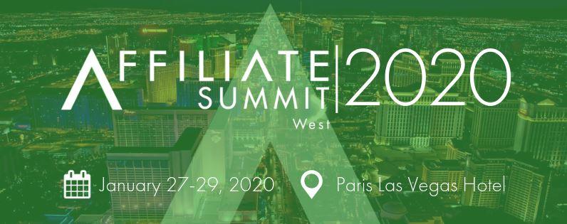 Affiliate Summit West 2020 | Las Vegas, NV affiliate conference 2020