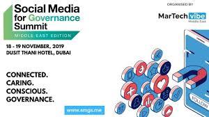 Social Media for Governance Summit 2019 | Dubai, UAE 1 | Digital Marketing Community