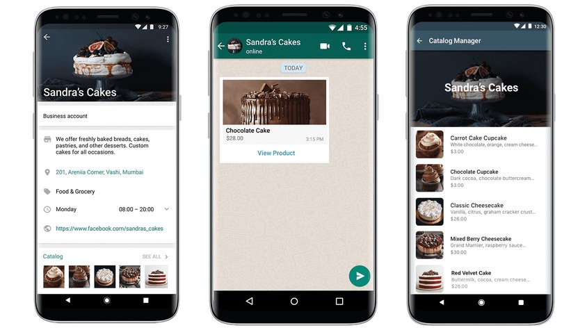 "WhatsApp rolls out 'Catalogs' for Business, the new feature creates ""a mobile storefront for businesses to showcase and share their goods""."