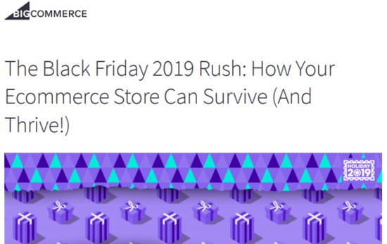 Download the Black Friday Rush guide now for the best marketing tips for your business.