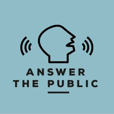 AnswerThePublic is one of the most powerful tools for discovering what people are searching for on forums, blogs and on social media and then turns those questions into great keywords