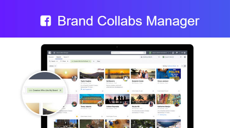 Brand Collabs Manager lets influencers find brand deals, manage brand deals and automatically share insights.