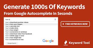 Keyword Tool 1 | Digital Marketing Community