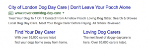 An Example for Effective Google Ads
