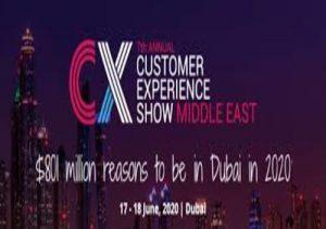 Don't miss the #1 CX conference 2020 in Dubai   DMC