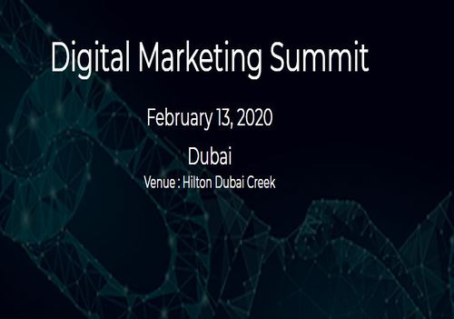 Don't miss the best digital marketing event in Dubai 2020 | DMC